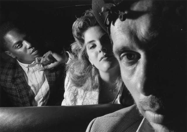 Ryan Weideman, 'Self-Portrait with Black and White Couple', 1986, Bruce Silverstein Gallery