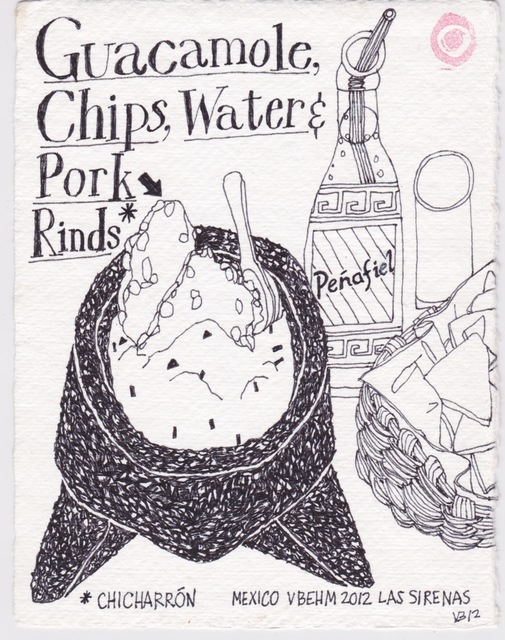 Victoria Behm, 'Guacamole, Chips, Water & Pork Rinds', 2012, 440 Gallery