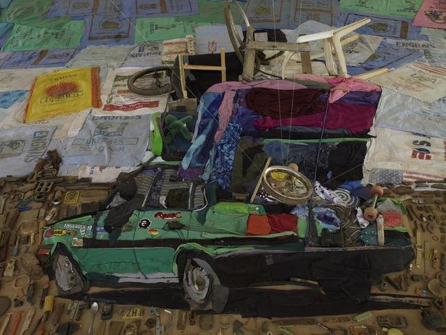 , 'Taxi brousse,' 2012, Sergio Gonçalves Galeria