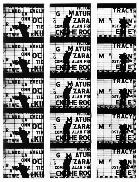 ", 'Filmstrips from ""Broadway by Light "" # 1, New York,' 1958, Polka Galerie"