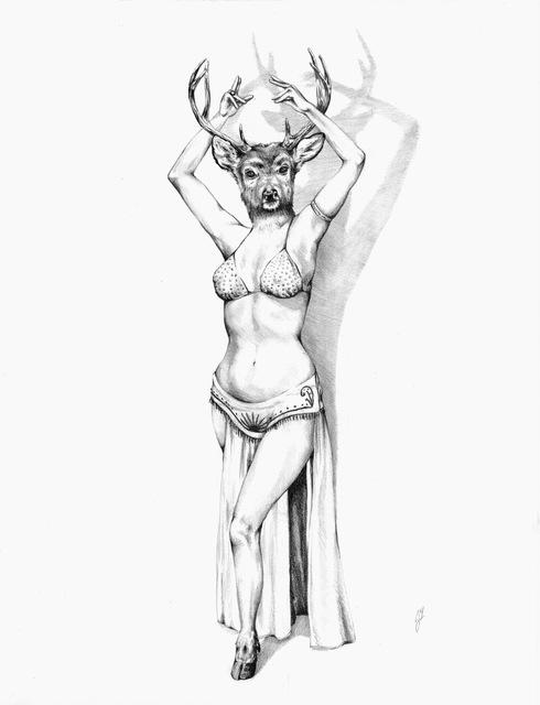 , 'Deer, Furlesque,' 2017, Dab Art
