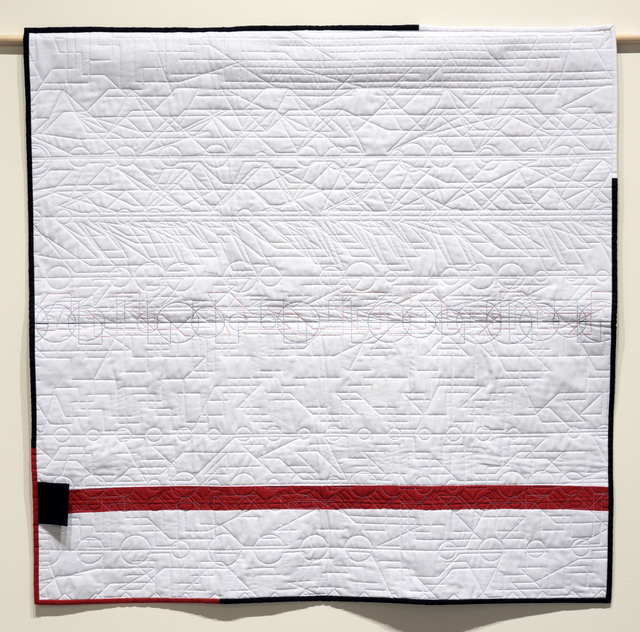 , 'Generative Textile Drawing (sw2),' 2017, Joseph Nease Gallery