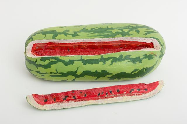 , '1.Sandía con interior rojo, blanco y negro,' 2008-2009, Nina Menocal Gallery