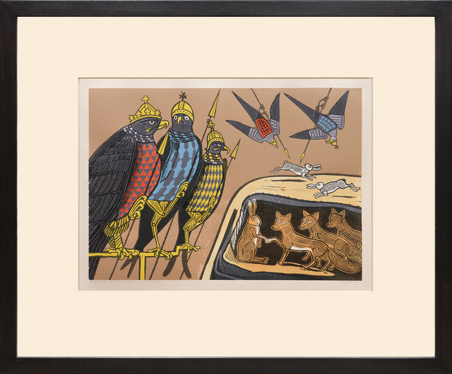 , 'Hares, Foxes and Eagles.,' 1970, Peter Harrington Gallery