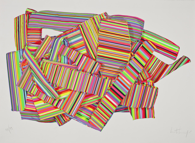 , 'Geometria blanda I,' 2014, Praxis Prints