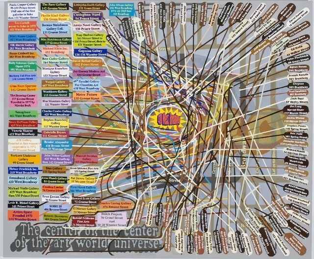 , 'SOHO: The Center of the Universe,' 2013, Freight + Volume