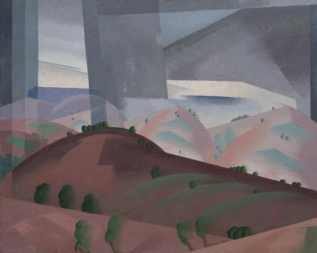 , 'Hills and Rain,' ca. 1930, Aaron Payne Fine Art
