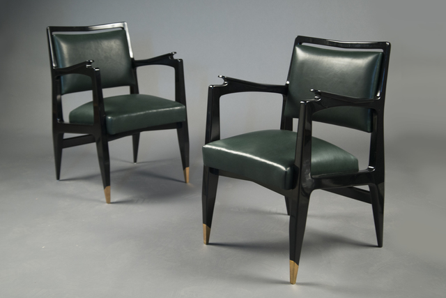 , 'Pair of Armchairs,' 1954, Bernd Goeckler Antiques