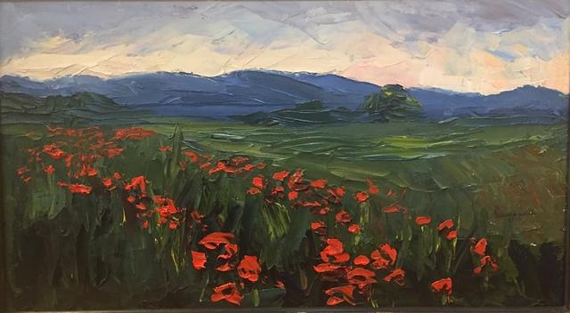 Nelson White, 'The Poppy Field', 2012, Grenning Gallery