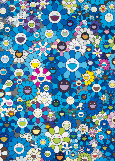 Takashi Murakami, 'An Homage To Ikb 1957 D', 2012, Julien's Auctions