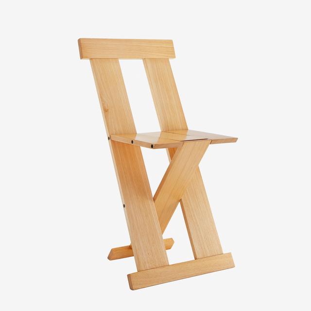 , 'Cadeira Frei Egídio,' 1987, Baraúna