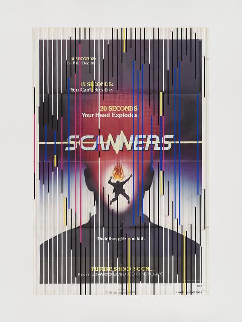 Sarah Morris, 'Scanners', 2019, White Cube