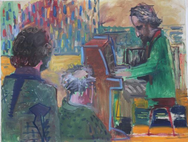, 'Piano Player,' 2017, Galería Arteconsult