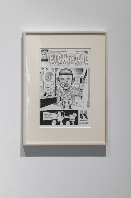 Daniel Clowes | Untitled (Cover drawing for Eightball #8) (1992) | Artsy
