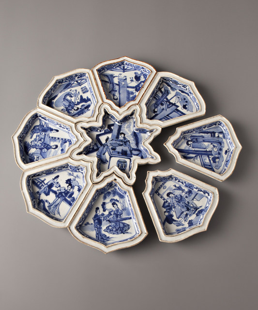 , 'Long Elizas,' China, Kangxi period (1662, 1722) circa 1700, Vanderven Oriental Art