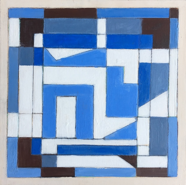 Susan O'Doherty, 'Blue Light', 2018, Painting, Acrylic on board, Art Atrium