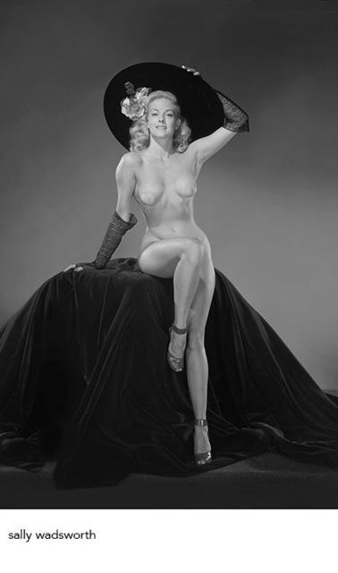 , 'Sally Wadsworth B&W,' 1948, Milk Gallery