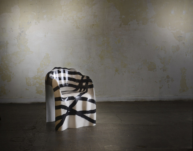 , 'Strata Stripes Chair,' 2013, Armel Soyer
