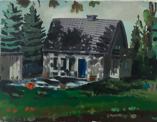 , 'Countryside House,' 2016, Half Gallery