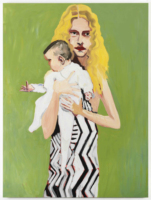 Chantal Joffe, 'BLONDE WITH A BABY', 2012, Cheim & Read