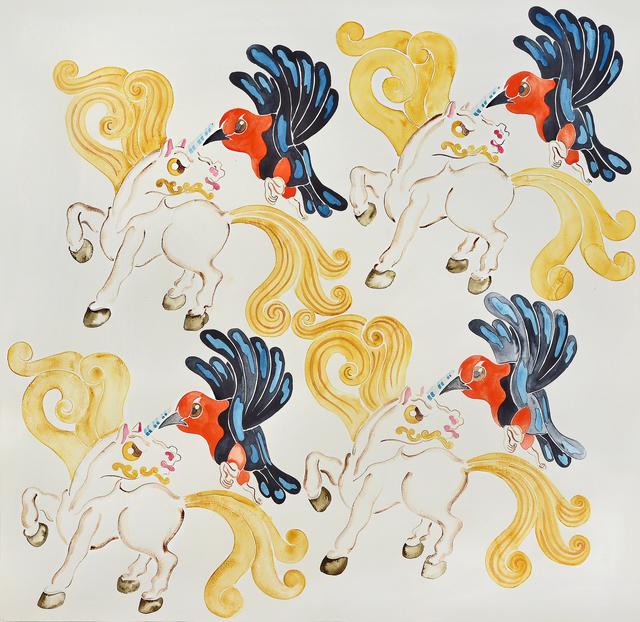 , 'Unicornios vs. Federales,' 2013, MAMAN Fine Art Gallery