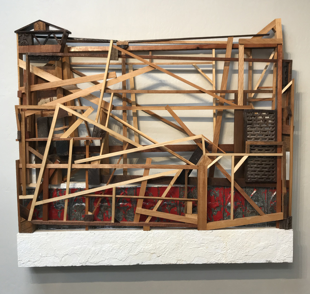 Trent Burkett, 'Construction with Red', 2016, JAYJAY