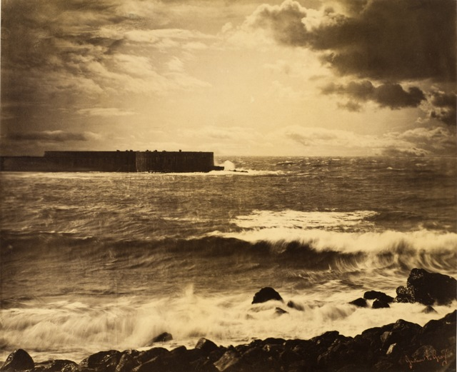 Gustave Le Gray, 'The Grand Wave, Sète,' ca. 1856, Los Angeles County Museum of Art