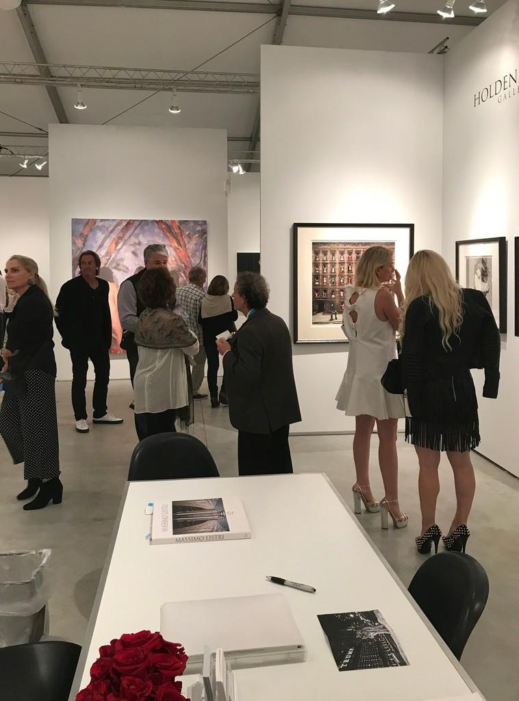 Opening night of Art Miami