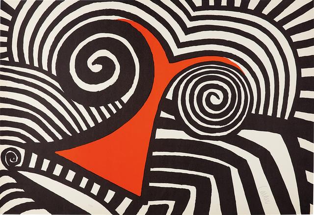 Alexander Calder, 'Red Nose', 1969, Phillips