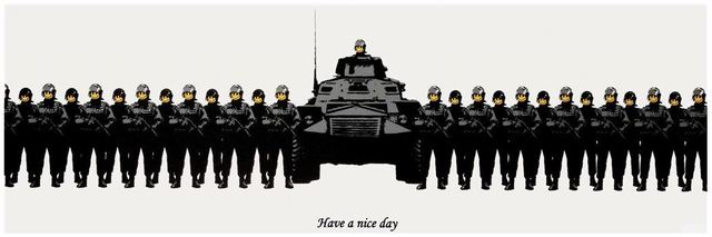 Banksy, 'Have A Nice Day', 2003, Lougher Contemporary