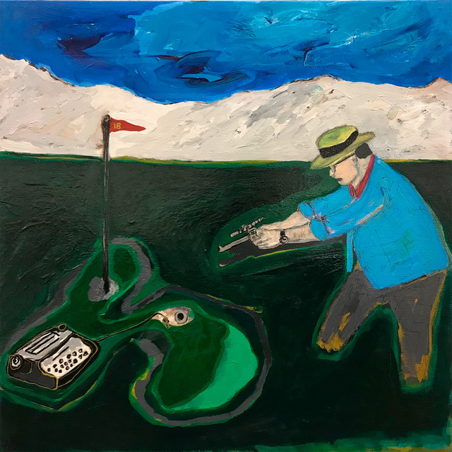 Morrison Pierce, 'Hole in One', 2021, Painting, Acrylic on canvas, McVarish Gallery