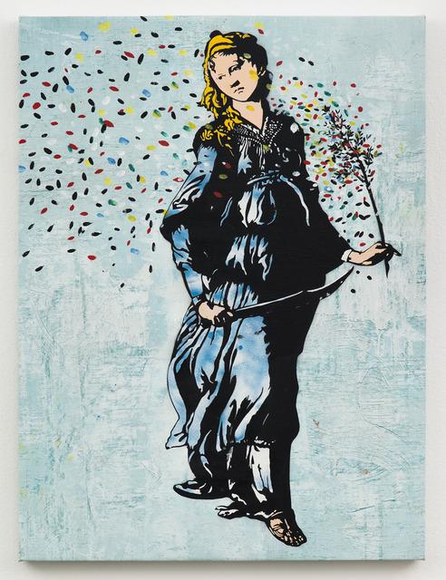 , 'Femme Au Sabre,' 2013, Jonathan LeVine Projects
