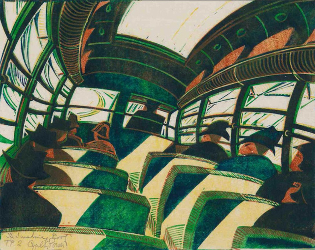 , 'The Sunshine Roof,' ca. 1934, Osborne Samuel