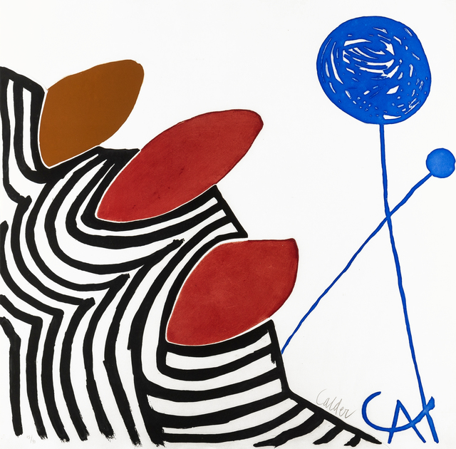Alexander Calder, 'Presenza Grafica', 1972, Forum Auctions