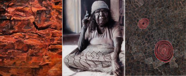 , 'Wentja Napaltjari Triptych,' 2016, Nanda\Hobbs