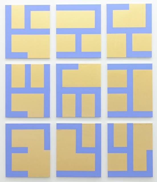 , 'Eviter le pire (gold),' 2014, Tatjana Pieters