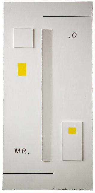 , 'Relief,' 1989, Gabinete de Arte k2o