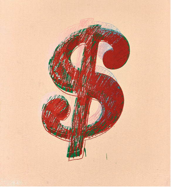 , 'Dollar Sign by Andy Warhol,' 1981, Revolver Gallery