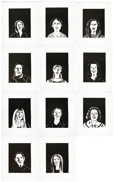 Alex Katz, 'You Smile and the Angels Sing', 2017, ARC Fine Art LLC