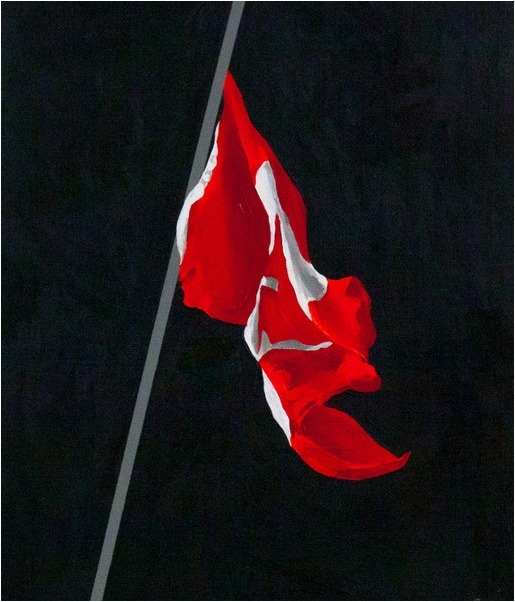 , 'Painted Flag,' 1988, Caviar20