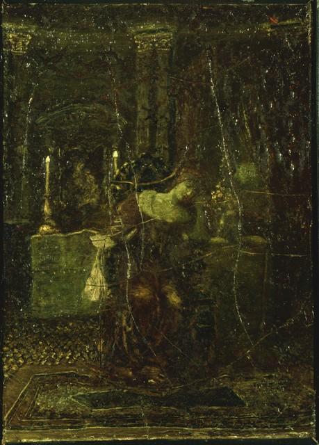 Albert Pinkham Ryder, 'Desdemona', 1896, Phillips Collection