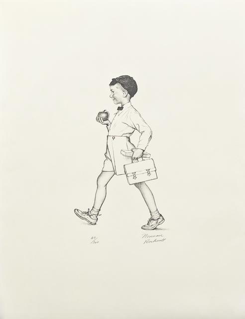Norman Rockwell, 'TEACHER'S PET', 1973, Gallery Art