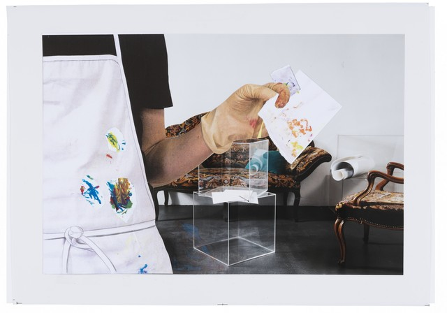 """, 'Studio per """"Sala d'attesa"""",' 2011-2012, Repetto Gallery"""