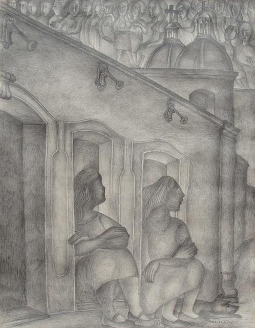 , 'Los grifos,' , Galeria Enrique Guerrero