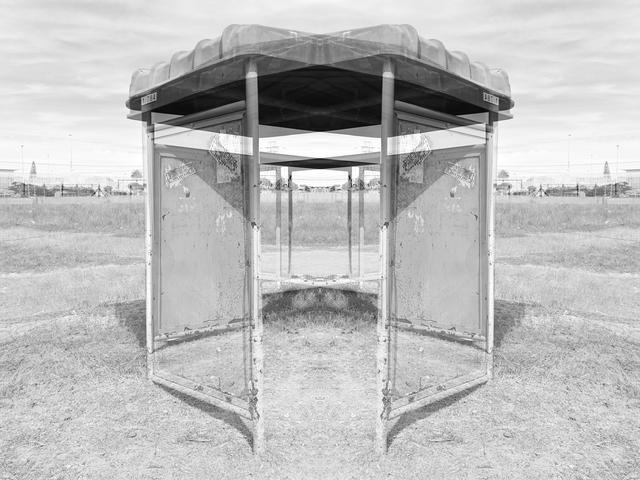 , 'Bus shelter II,' 2019, Black Box Publishing