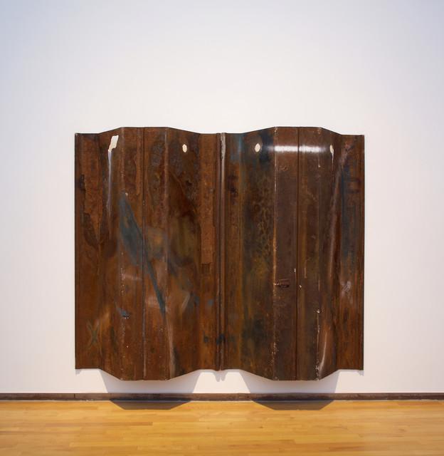 , 'ea Wall (Stell Kilt Redux),' 2017, MASS MoCA