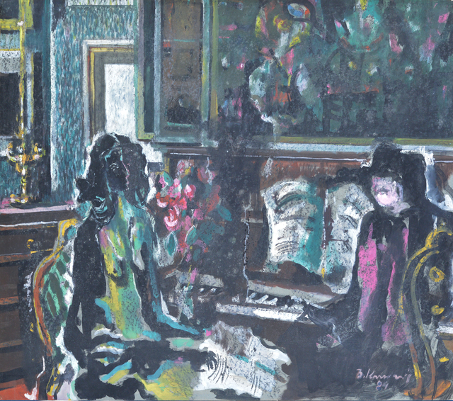 , 'Piano Lesson,' 1984, Museum of Modern Art Dubrovnik