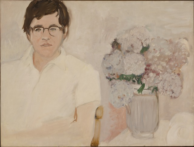 , 'Portrait of Kenneth Koch,' ca. 1966, Parrish Art Museum