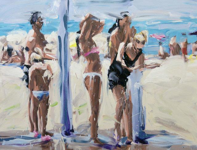 , 'Die Dusche VI,' 2014, Galerie Barbara von Stechow