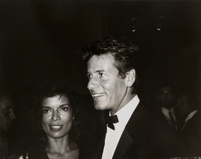 Andy Warhol, 'Andy Warhol, Photograph of Bianca Jagger and Calvin Klein, 1982', 1982, Hedges Projects